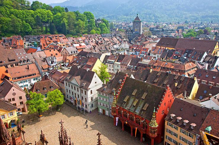 Fribourg-en-Brisgau en train - Allemagne