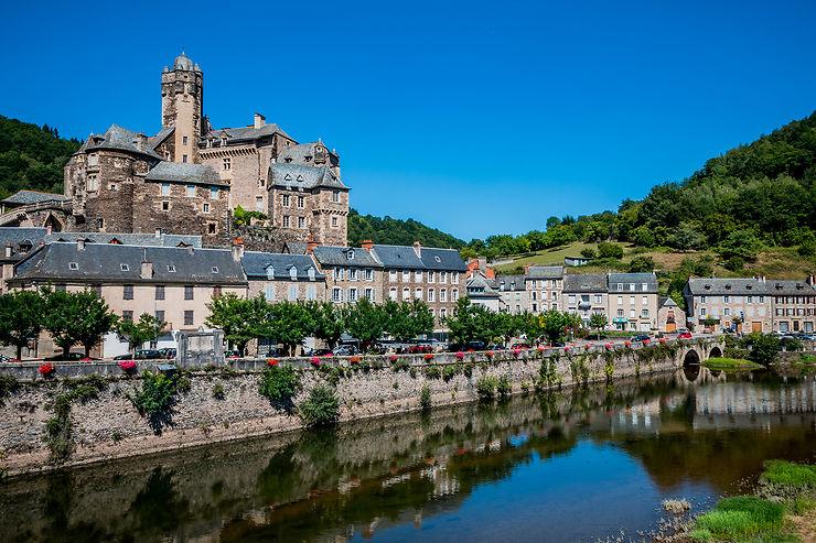 Le nord de l'Aveyron, autour de Conques