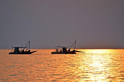 Les pêcheurs du Lac Kariba