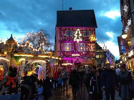 Colmar décorée pour Noël