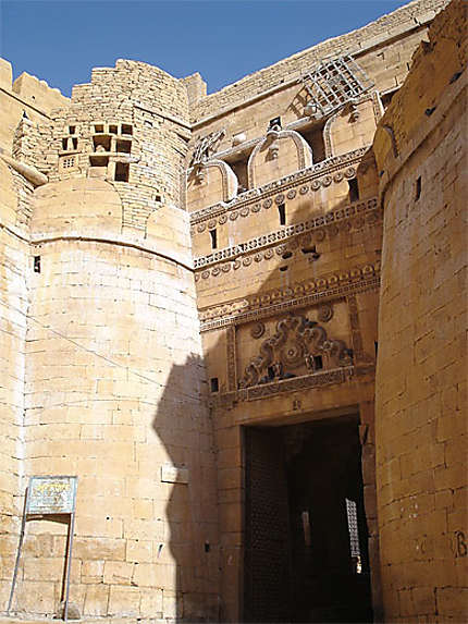 Porte du fort de Jaisalmer
