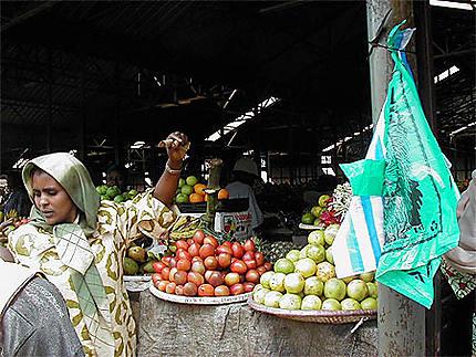 Au marché à Kigali