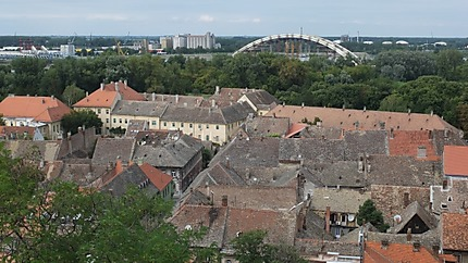 Vue sur les toits de Petrovaradin