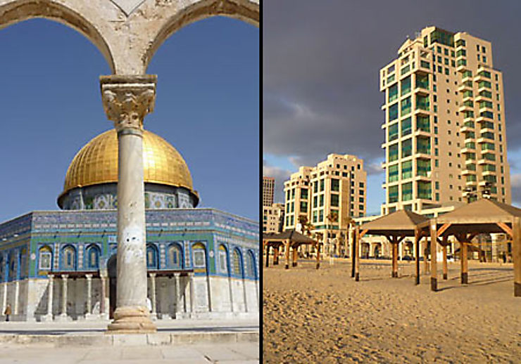 Jérusalem / Tel-Aviv : si loin, si proche