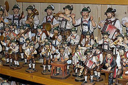 Figurines folkloriques