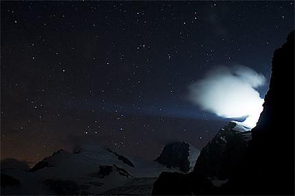 Nuit en haute montagne