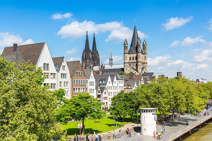 Cologne en train - Allemagne