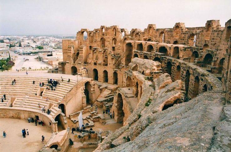 Amphithéâtre D'El Jem, Tunisie