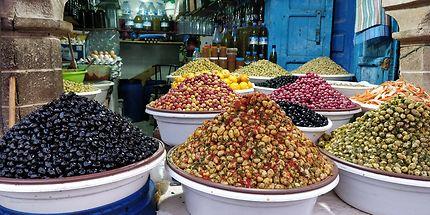 Olives aux couleurs variées, Essaouira