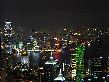 Kowloon depuis Victoria Peak