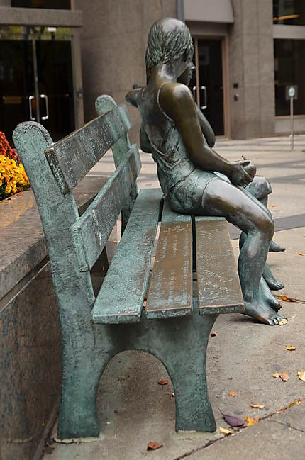 Les amoureux de Montréal, rue la rue McGill
