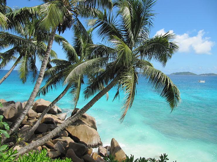 L'océan à Mahé, Seychelles