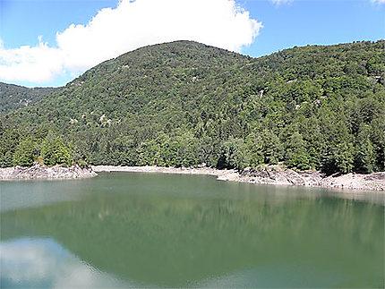 Lac du barrage Alfeld