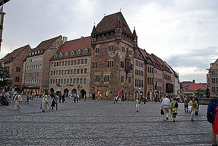 La plus vieille maison de Nüremberg