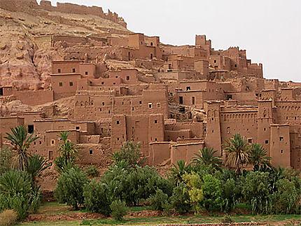 Maroc, Aït Benhaddou, village de terre aux environs de Ouarzazate