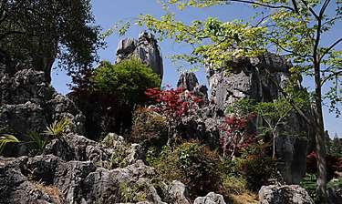 Shilin (Forêt de Pierres, Yunnan)