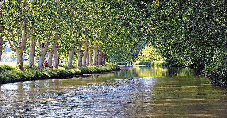 Sur le canal du Midi, dans l'Hérault