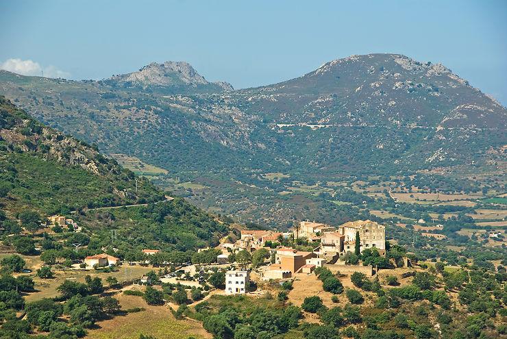 Sant'Antonino et les villages de Balagne - Corse