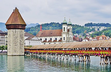 Pont couvert à Lucerne