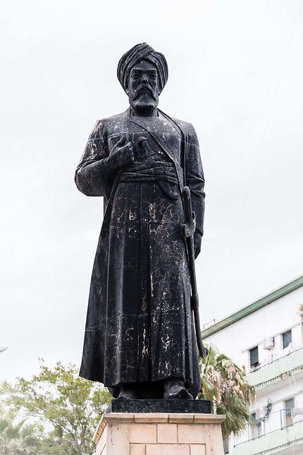 Alger - Casbah - Statue de Bologhine Ibn Ziri