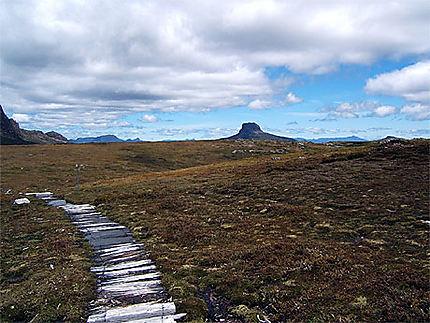 Sentier d'altitude