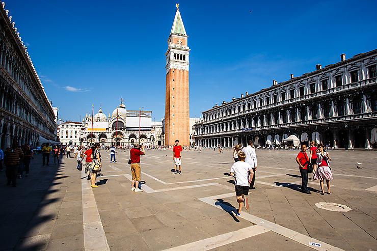 Prendre le pouls de Venise sur la place Saint-Marc