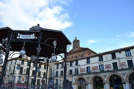 Place centrale de Tudela