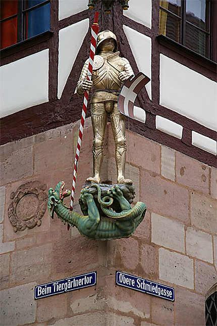 St-Michel tuant le dragon