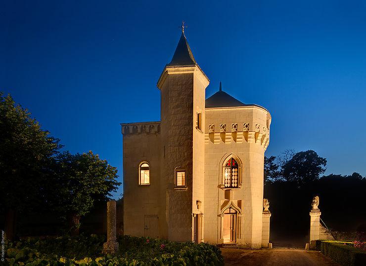 Val de Loire - Un château se met au street art à Candes-Saint-Martin