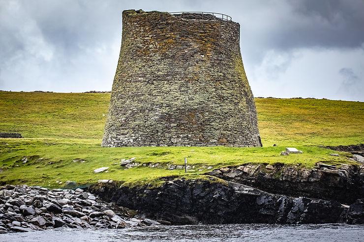 Une couche néolithique, une couche viking