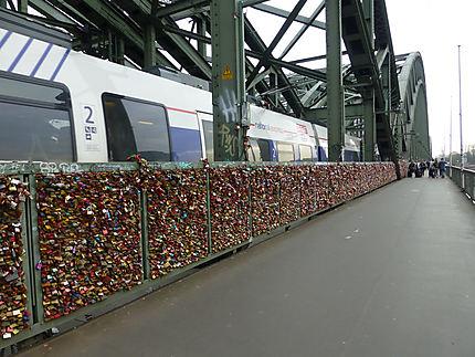 Pont des amoureux allemands