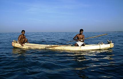Pêcheurs au Kerala