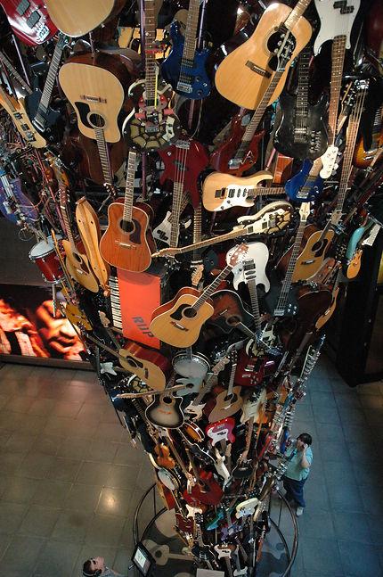 Guitars tower