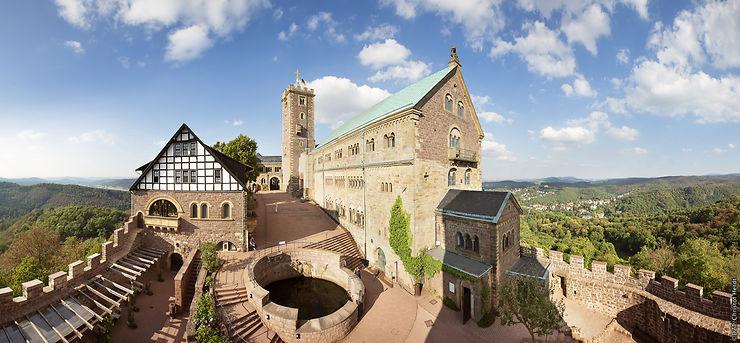 Jour 2. Une balade dans Eisenach et la Drachenschlucht
