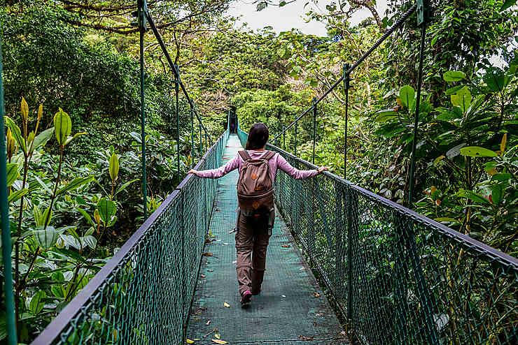 L'Arenal et la réserve de Monteverde (Costa Rica)