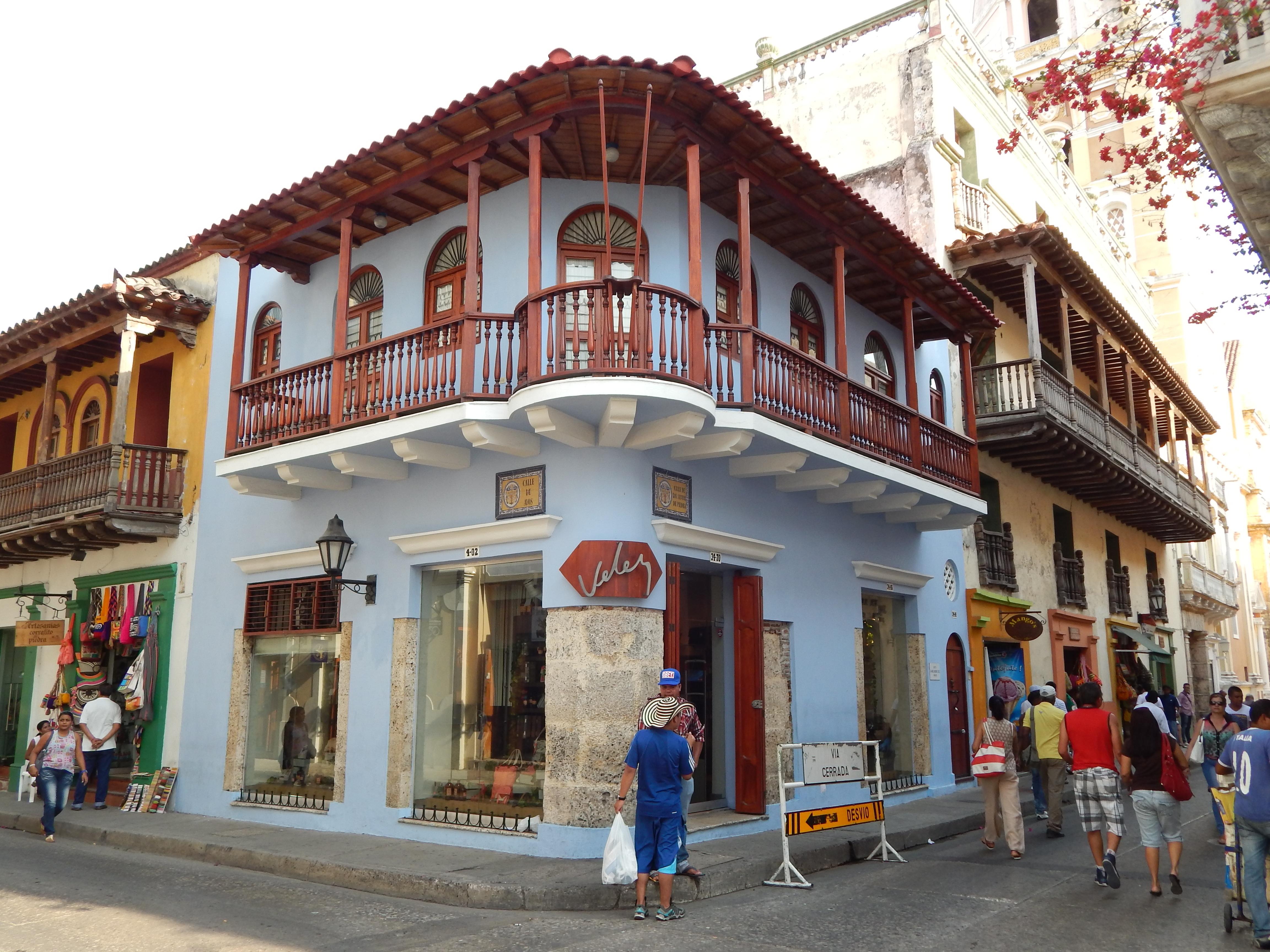 Cartagena de Indias (Carthagène des Indes) - Colombie