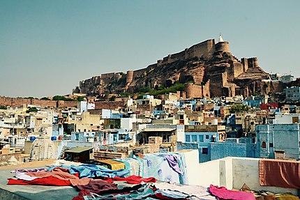 La forteresse vue de Jodhpur