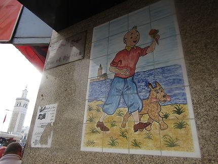 Tintin en Tunisie