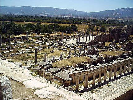 Ruines de Pergame