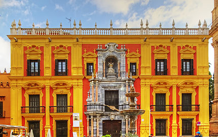 Málaga plaza del obispo