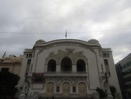 Facade du théâtre de Tunis