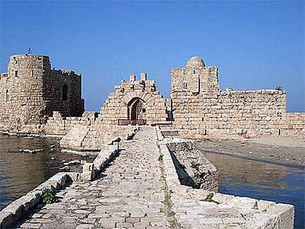 Le château de la mer à Saïda