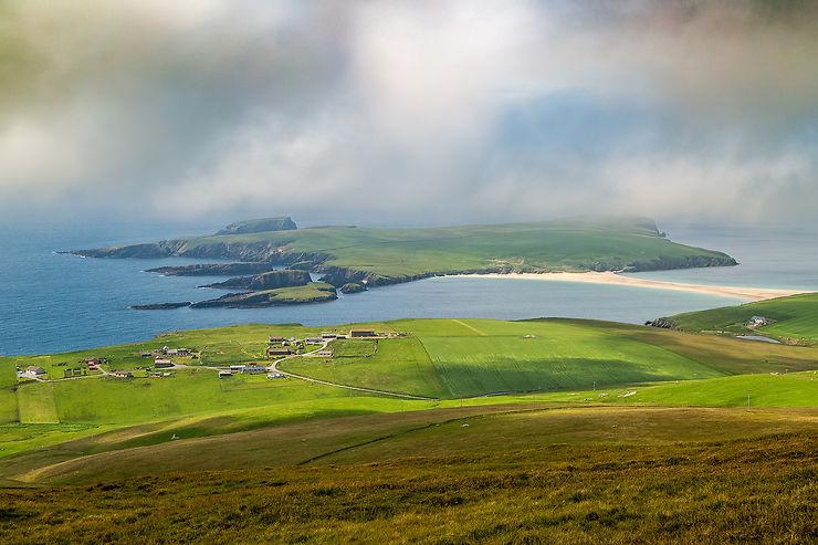 Écosse : les îles Shetland, archipel viking
