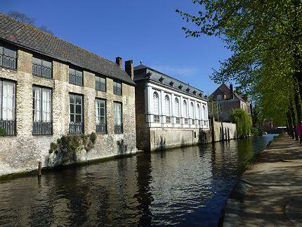 Bordure de canal