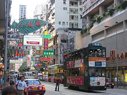 Tramway à HK