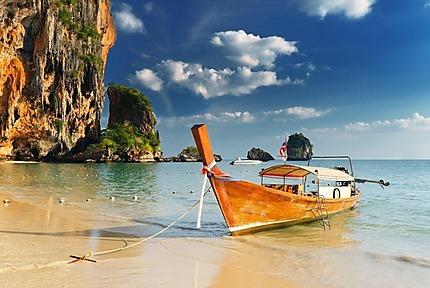 Bateau à Phra Nang