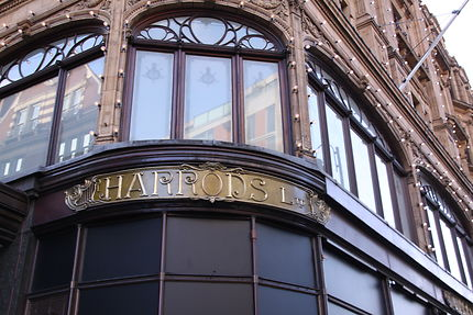Magasin Harrods - morceau de façade