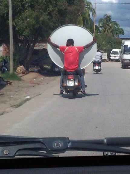 Transport de parabole