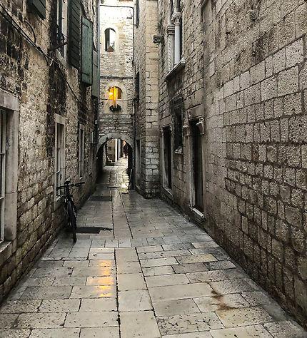 Dans les petites ruelles de la vieille ville