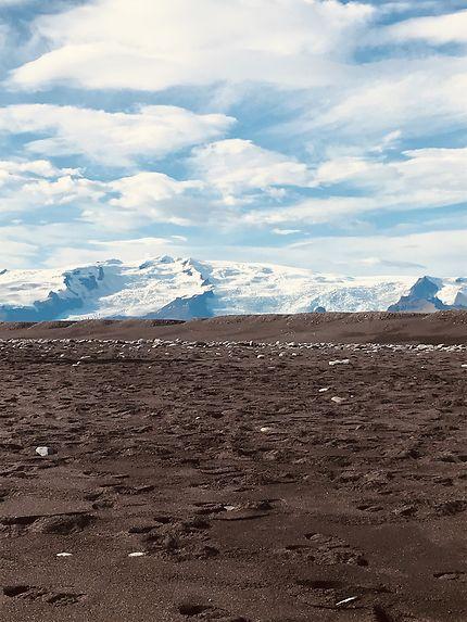 Plage de diamants en Islande